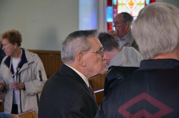 Bill Simpson at Prospect United Church.